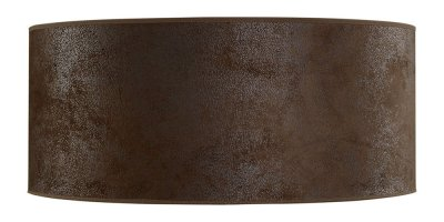 Lampskärm Cylinder Large, Brown suede - Artwood