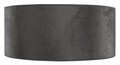 Shade Cylinder, Large, Grey Suede - Artwood