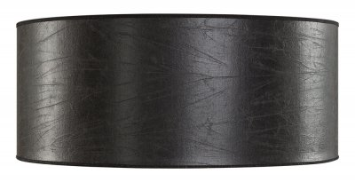 Lampskärm Cylinder Large, Leather black - Artwood