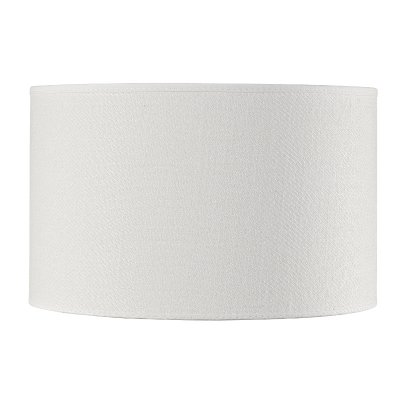 Lampskärm Cylinder Small, White Linen - Artwood