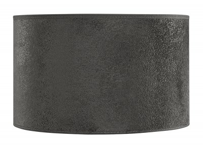 Lampskärm Cylinder Small, Suede Grey - Artwood