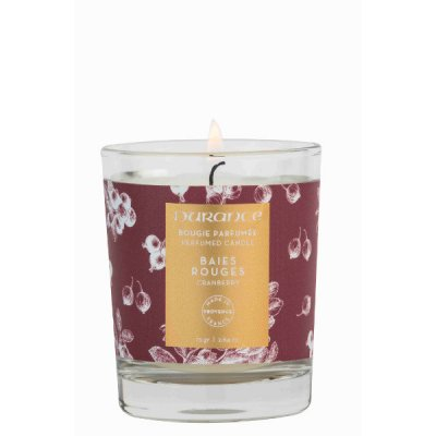 Scented candle Cranberries, 75 gram - Durance