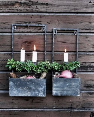 wall-planting-2-candle-rustic-metal