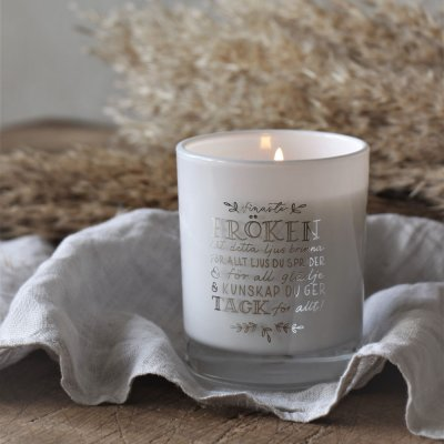 fröken-candle-200grams-white-silver-majas-cottage