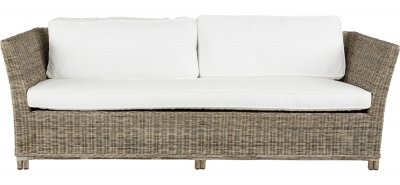 Arlington Sofa 3-s, icl. cushions, Grey Lacak - Artwood