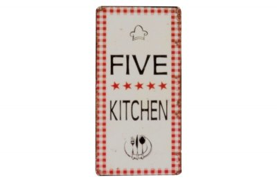 Magnet, Five star kitchen - Ib Laursen