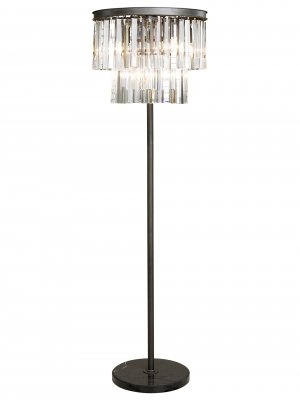 CRYSTAL Floorlamp iron/Chrystal - Artwood