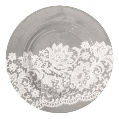 Small plate Liva warm grey - GreenGate