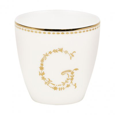 Mini Lattemugg G, gold - GreenGate