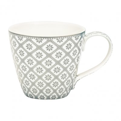 Mugg Bianca warm grey - GreenGate