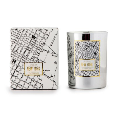 Doftljus Maps, New York - Victorian Candles