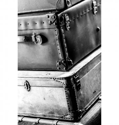 Photo on plexiglass VINTAGE SUITCASES GN5541 - Artwood