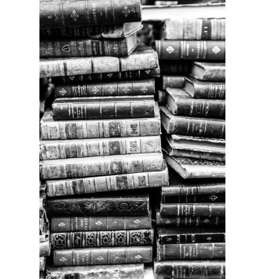 Photo on plexiglass LOVE FOR BOOKS GN5567 - Artwood