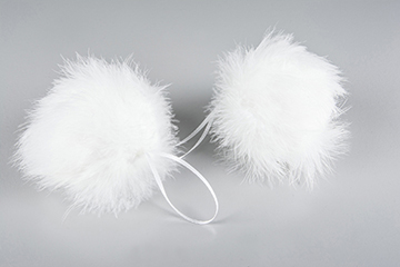 Julkula Fjäder, Fluffy - A lot decoration