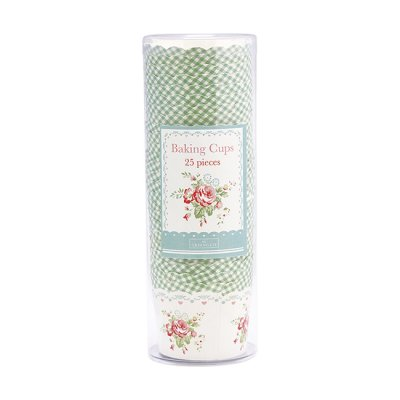 Pappersbägare Abelone mint , 25-pack - GreenGate
