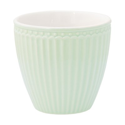 Lattemugg Alice pale green - GreenGate