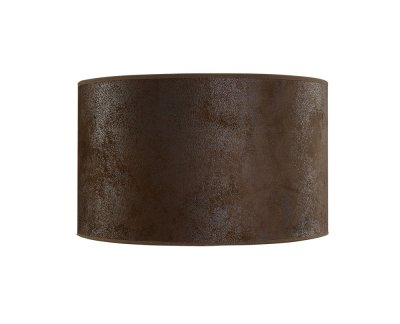 Lampskärm Cylinder Small, Suede Brown - Artwood