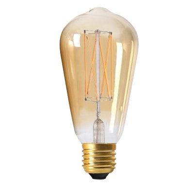 Elect LED Filament E27 Edison, 2,5W gold - Pr Home