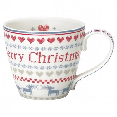 Mugg December red - GreenGate