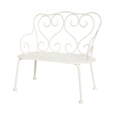 Romantic Bench mini, offwhite - Maileg