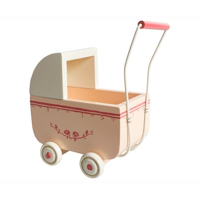 Pram for micro, light pink - Maileg