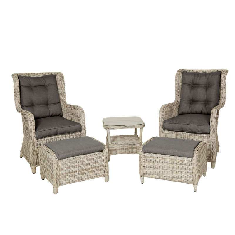 premium selection 8c244 2e30c Armchair set Als, 2-pack armchair + side table, gray & gray - Easy Living