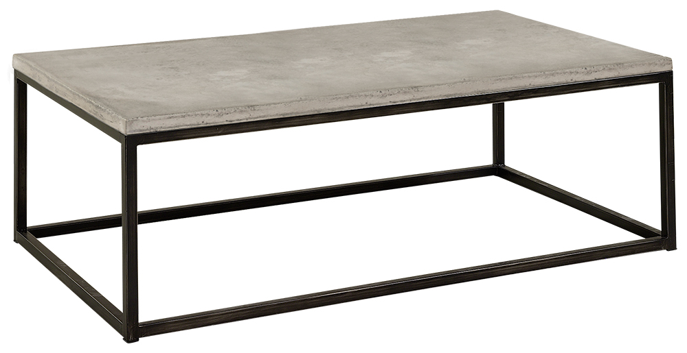 Soffbord Yoshi rectangular, Concrete steel Artwood