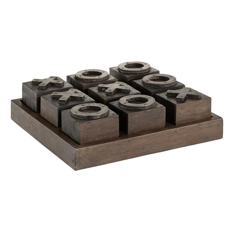 Criss Cross Game Java Oak Antique - Artwood efca5cdf24e21